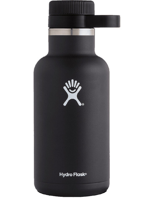Hydro Flask Wide Mouth Beer Bottle 64oz (1900ml) Black